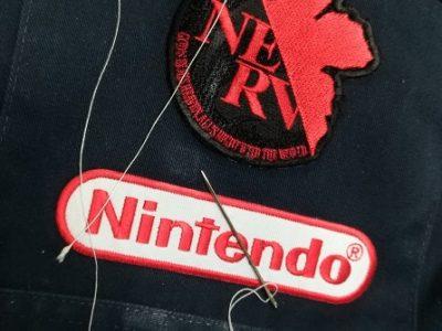 作業用ツナギ ワッペン(Nintendoロゴ)