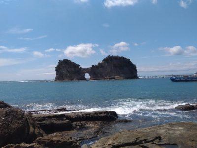 白浜観光~其の壱:とれとれ市場、円月島、白良浜