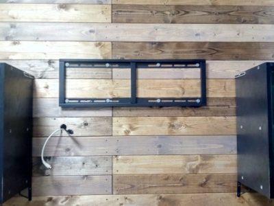 壁掛け収納ボックス~其の弐:壁設置の収納ボックス(完成)~