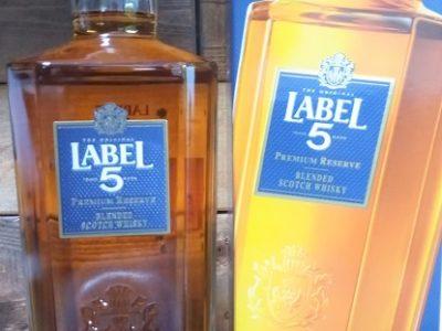 【ウィスキー】LABEL5 ラベルファイブ AGED12YEARS