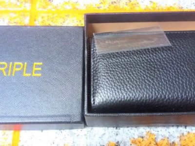 TRIPLE  ボックス型カードケース